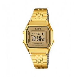 RELOJ DIGITAL DORADO CASIO VINTAGE ICONOC