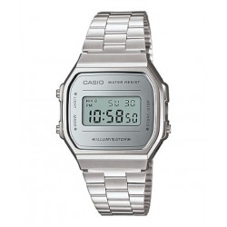 RELOJ DIGITAL PLATEADO CASIO
